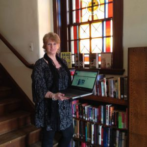 Rebecca Jusseaume, Director of Slater Library