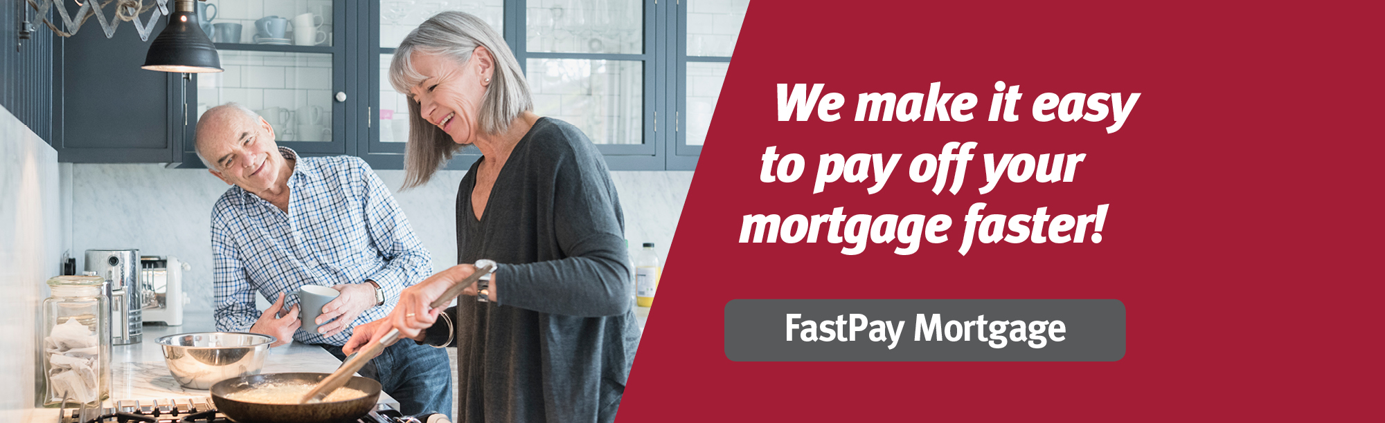 Click to learn how we make it easy to pay off your mortgage faster.